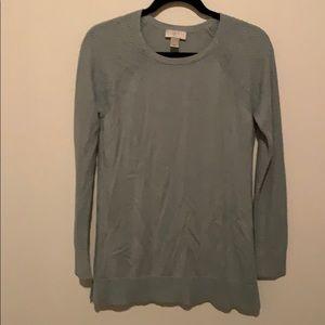 LOFT Mint Green Long Sweater
